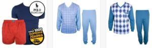 Luxusní pánská pyžama